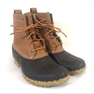 "L.L. Bean 8"" Bean Boots in Tan/Brown"